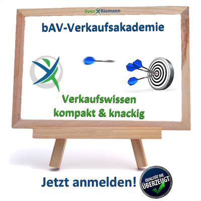 Erfolgreiches bAV-Firmengeschäft umsetzten.