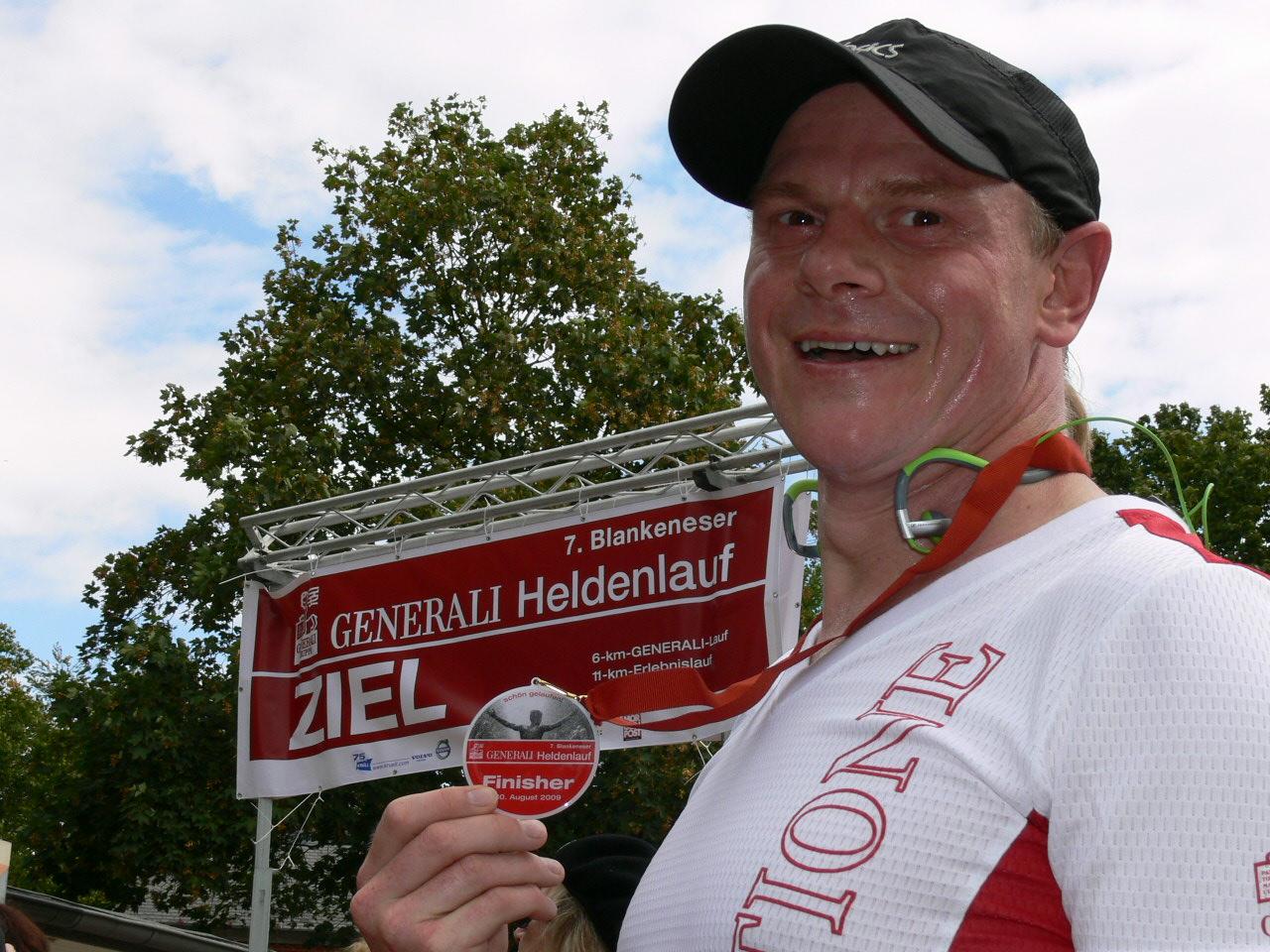 Sven Riemann Finisher Halbmarathon Heldenlauf 2009 Über mich