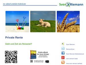 Sven-Riemann-Maklerberater Rentenirrtum